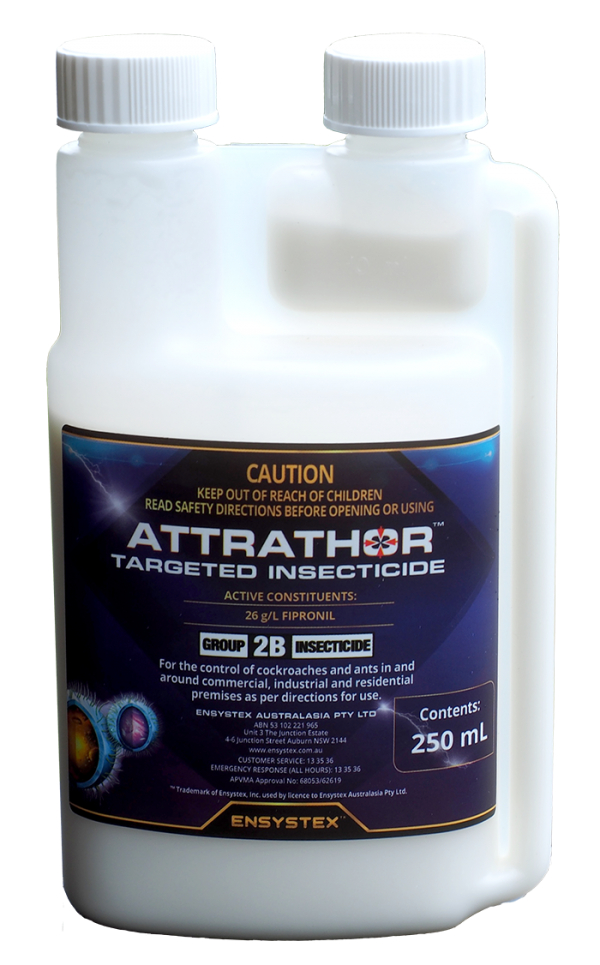 Attrathor targeted insecticide 250ml is a one of a kind insecticide for the control of German Cockroaches. Supplied by Service Giant